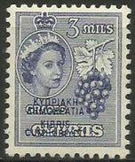 Cyprus - 1960 Republic Overprint 3m MLH *     Sc 184 - Cyprus (Republic)