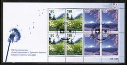 CH 2014 MI 2326-27 Kb USED - Blocks & Kleinbögen
