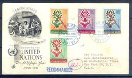 D768- Postal Used Cover. Posted From Haiti To USA. UNO. United Nation. - UNO
