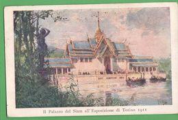 Expo Torino 1911 Palazzo Del Siam - Manifestations