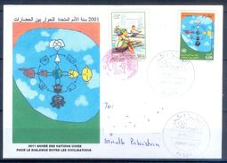 D773- Postal Used Cover. Posted From Algerie Algeria To Pakistan. Joint Issue. United Nation. - Algeria (1962-...)