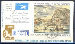 D781- Postal Used Cover. Posted From Israil UK. England. Ship. Mountains. - Other