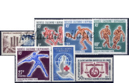 -Nouvelle-Calédonie Année Complète 1963 - Nueva Caledonia