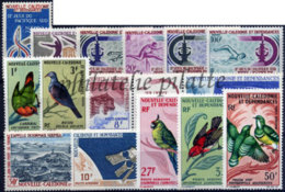 -Nouvelle-Calédonie Année Complète 1966 - Nueva Caledonia