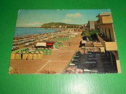Cartolina Cattolica - La Spiaggia 1962 - Rimini