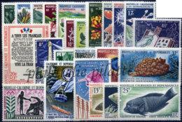 -Nouvelle-Calédonie Année Complète 1964/65 - Neukaledonien