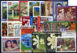 -Polynésie Année Complète 2001 - Années Complètes