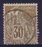 Colonies Générales: Yv Nr 55 Obl./Gestempelt/used  CDS Nouvelle Calédonie - Alphee Dubois