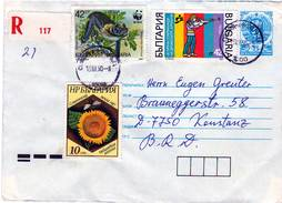 Bulgaria 1990 Mailed Cover - Bulgaria