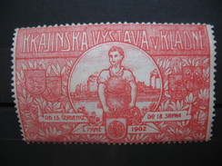 Vignette ;  Krajinska Kystava VKlande 1902 - Erinnophilie
