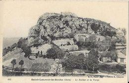 Saint-Laurent-la-Roche - Le Rocher Et La Vierge - Sonstige Gemeinden
