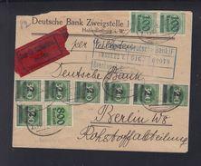 Dt. Reich Expresbrief 1923 Hohenlimburg Nach Berlin Bahnpost - Deutschland