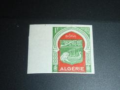TIMBRE D'ALGERIE NON DENTELE N°337 Armoiries De Ville - ANCIENNE COLONIE FRANCAISE NEUF (C.V) - Algerien (1924-1962)