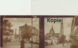 Doppelfoto Mit Kirche; Ostfront (Ort Unbekannt) - Guerre 1914-18