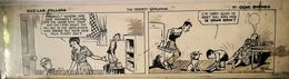 STRISCE ORIGINALI COMIC STRIP BY GENE BYRNES REG'LAR FELLERS - Autres
