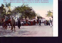 Rhodes ,sortie Du General Ameglio Du Palais Du Gouverneur - Grèce