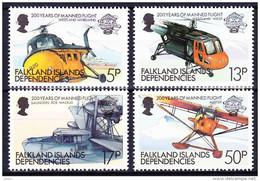FALKLAND ISLAND DEPENDENCIES - GEORGIE DU SUD 1983 YT N° 116 à 119 ** - Géorgie Du Sud