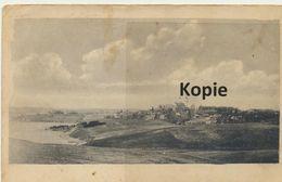 AK Ostfront, Panoramablick Mit Kirche Im Hintergrund - Weltkrieg 1914-18