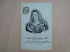 CPA MARQUISE DE MAINTENON (FRANCOISE D'AUBIGNE) - Personajes Históricos