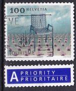 Svizzera, 2003/2004 - 100c Le Fauteuil Grand Confort + Etiquette - Nr.1169 Usato° - Switzerland