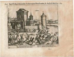 Zichem - Sichem - Les Guerres De Nassau 1616 Par Baudartius - Sub Philippo Secundo, Gubernante Don Ioanne & Archid. - Cartes