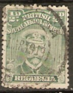 British South Africa Company. Rhodesia 1917 SG 282 1/2d Fine Used - Southern Rhodesia (...-1964)