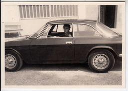 AUTO CAR VOITURE ALFA ROMEO 1300 TARGA TORINO -  FOTO ORIGINALE 1970 - Cars