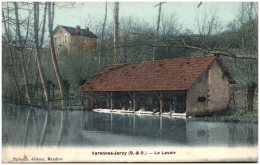 91 JARCY - Le Lavoir  (Recto/Verso) - Autres Communes