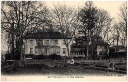 91 JARCY - La Villa Bolëldieu  (Recto/Verso) - Autres Communes