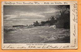 Kenosha WI 1905 Postcard - Kenosha