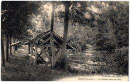 91 JARCY - La Rivière Dans Les Prés  (Recto/Verso) - Autres Communes