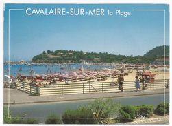 Cavalaire-sur-Mer 1987,  La Plage Et Le Cap Cavalaire  Costa Azzurra. - Cavalaire-sur-Mer