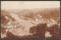Looking Up The River, Looe, Cornwall, C.1930 - Photochrom Postcard - Other