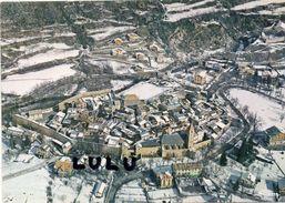 DEPT 04 : édit. Cim : Colmars Les Alpes Vue Générale Aérienne L Hiver - France