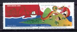Brazil 2012 Brasil / China MNH / Cu2635  2 - Brazil