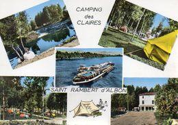 SAINT RAMBERT D'ALBON    Camping Des Claires - Autres Communes