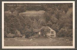 Carte Postale ( Maison De JJ Rousseau / Champ Du Moulin ) - NE Neuchâtel