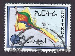 1994 - Eritrean Flag And Map - 3Birr - Yt:ER 247 - Used - Eritrea