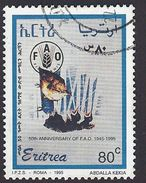 1995 - 50TH Anniversary Of F.A.O. -  Mi:ER 73 - Used - Erythrée