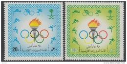 Arabie Saoudite 1986 Yvertn° 668-69 *** MNH  Cote 9,50 Euro  Sport - Arabie Saoudite
