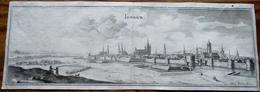 Doornik - Tournai - Tornick Gravure Van Merian 1654 - Kaarten