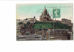 Cpm - 75 - PARIS - Montmartre - Vue Panoramique Du Sacré Coeur - N°713 - Funiculaire - 1909 TRAVAUX échafaudage - Sacré Coeur