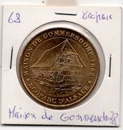 Ecoparc D'Alsace 68 : Maison De Gommersdorf (Monnaie De Paris, 2007) - Monnaie De Paris