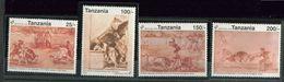 Tanzanie ** N° 1001 à 1004 - Tableaux  De Goya- - Tansania (1964-...)