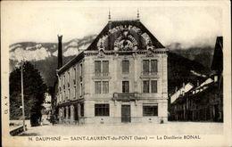 38 - SAINT-LAURENT-DU-PONT - Distillerie BONAL - Saint-Laurent-du-Pont