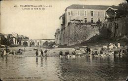 47 - VILLENEUVE-SUR-LOT - Laveuses - Lavandières - Lavoir - Villeneuve Sur Lot