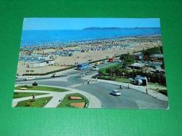Cartolina Rimini - Lungomare E Spiaggia 1971 - Rimini