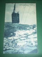 Cartolina Goglio ( Baceno ) - Stazione Partenza Funivia 1961 - Verbania