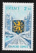 TIMBRE N° 1916  -  FRANCE -  FRANCHE COMTE   -  NEUF   -  1977 - France