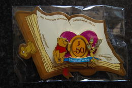 DLRP - Countdown To 15th Anniversary - J-50 (Winnie The Pooh And Lumiére) Spinner   Limited Edition  900 - Disney